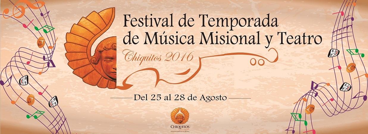 Festival de Temporada de Chiquitos 2016