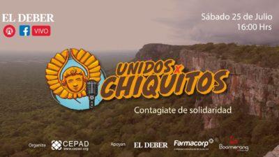 Se acerca el show UnidosXChiquitos para recaudar fondos a favor de Chiquitos