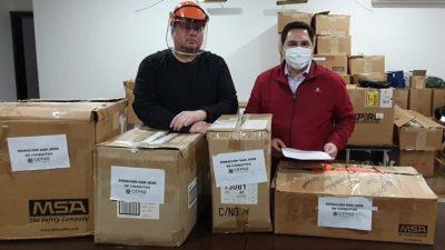 Donación de Equipamiento Especializado para Bomberos Municipales de San José de Chiquitos